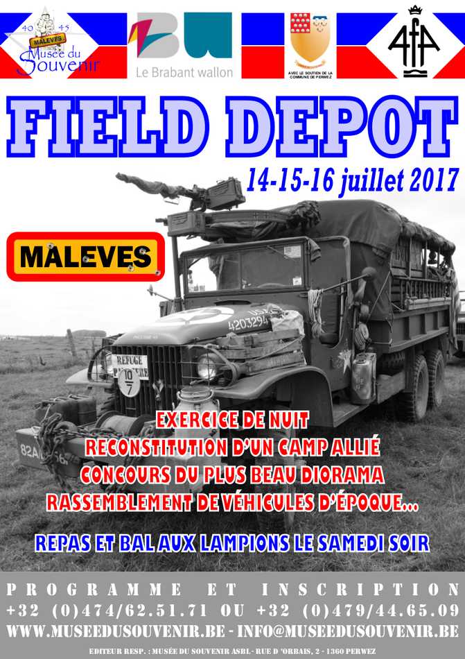 Affiche Field Depot 2017 A4 Color
