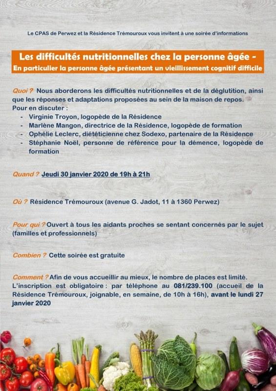 Conférence nutrition  affiche A4 page 0