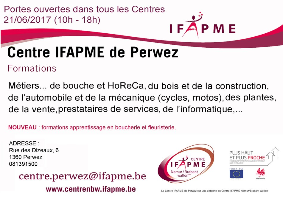 ifapme Perwez set de table 150dpi 2